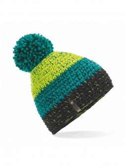 Be Famous Contrast Knit Beanie B1904