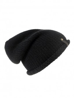 Be Famous Knit Raw Roll Up Beanie B21