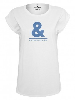 Be Famous Women Rolled T-Shirt, &leb