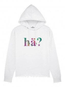Be Famous Women Boxy Hoodie H?Ä