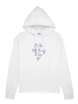 Be Famous Women Boxy Hoodie Littlethings
