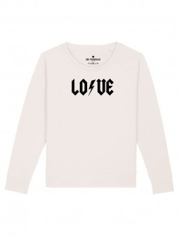 Be Famous Women Relaxed Fit Sweatshirt LOVFLASH