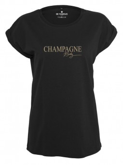 Be Famous Women Rolled T-Shirt Chaba