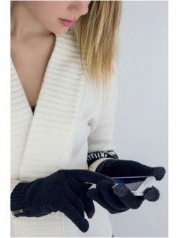 Be Famous Touch Knit Gloves G02
