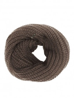 Be Famous Knit  Knit Loop Scarf (doppelt) S03
