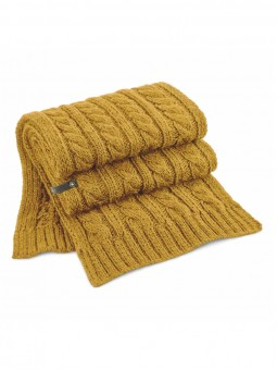 Be Famous Cable Knit Scarf S1901