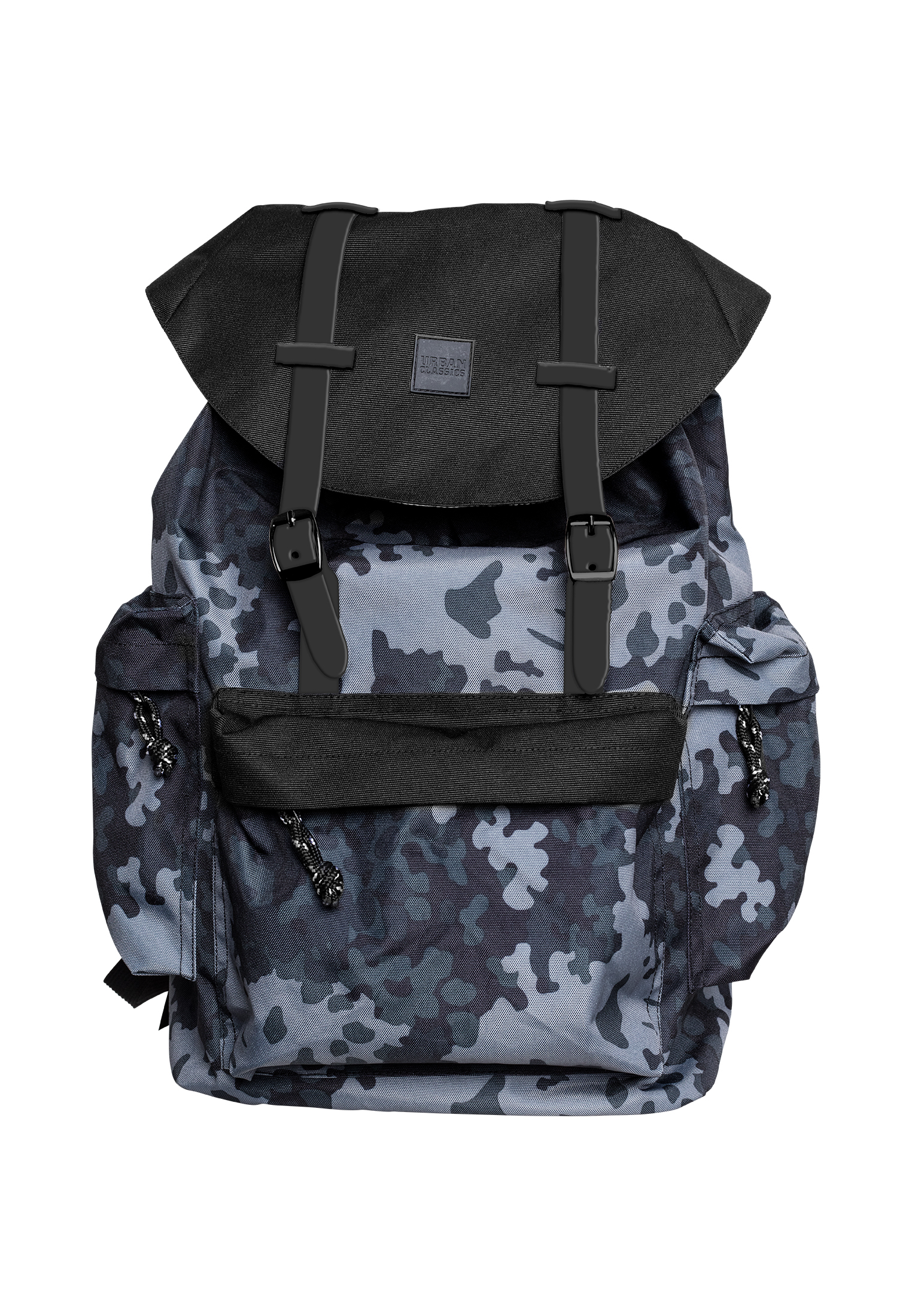 streetwear fashion online shop urban classics camo backpack with multibags auf rechnung. Black Bedroom Furniture Sets. Home Design Ideas