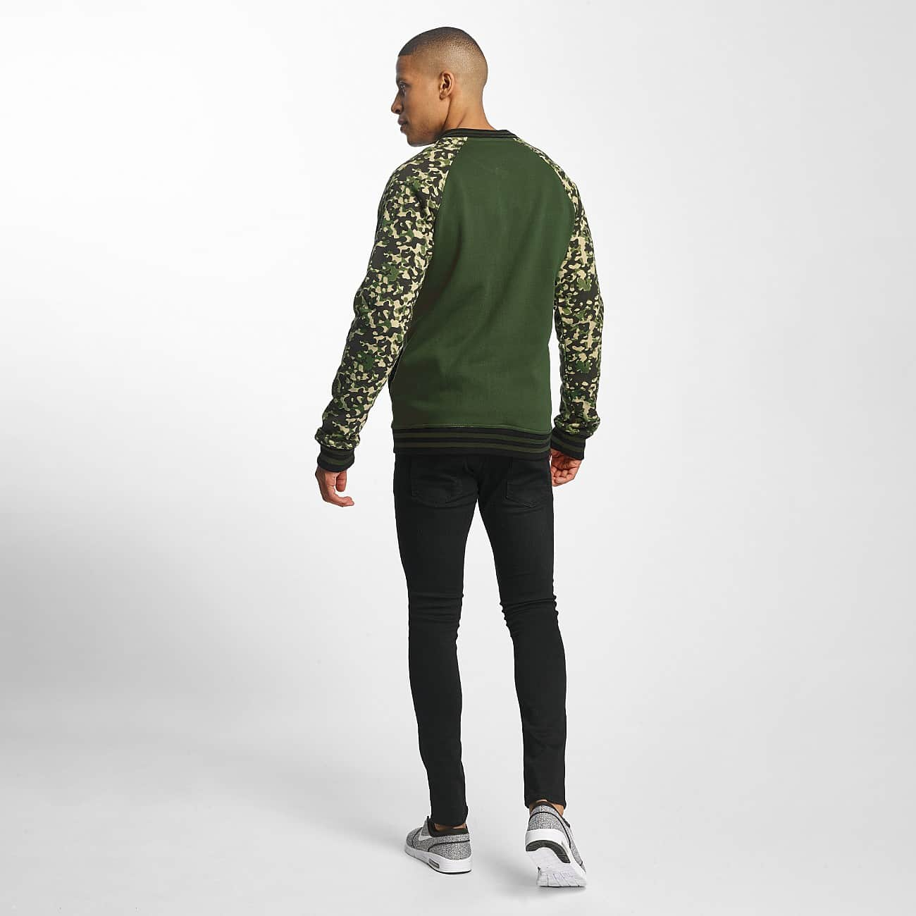 streetwear fashion online shop cyprime m nner college jacke draco in camouflage auf. Black Bedroom Furniture Sets. Home Design Ideas